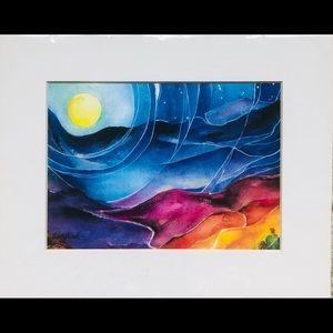 """""""The message"""" illumination Art by Eleykaa"""